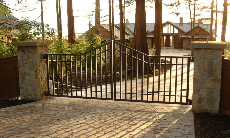 Residential Security Ornamental Gates Gateway Controls
